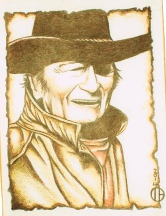 John Wayne by Troy Holway